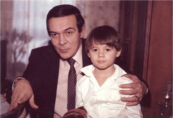 Муслим Магомаев и Эмин фото