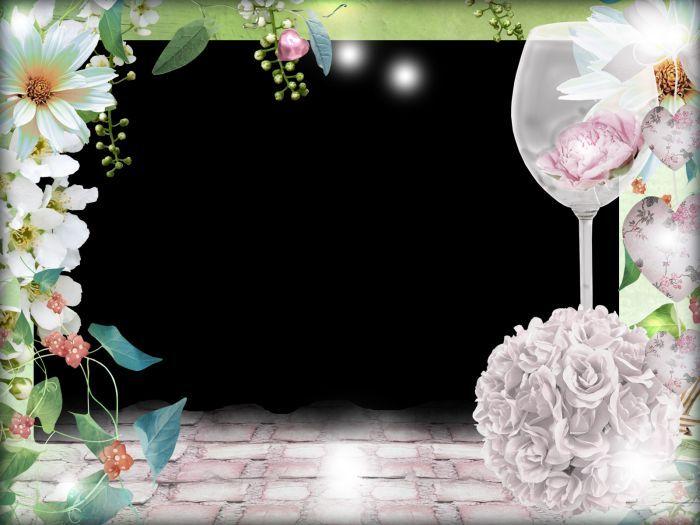 Свадебные рамки фото