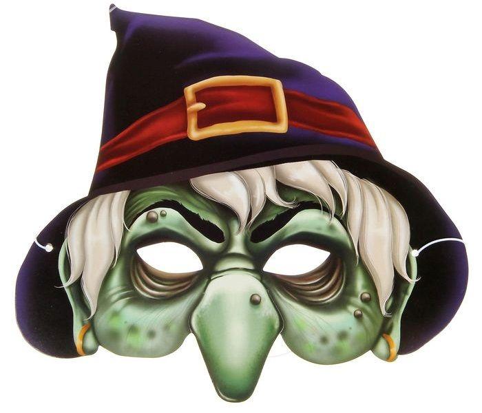 Страшная маска на голову