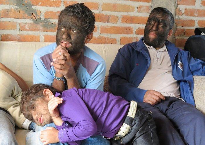 Семья Асевес фото