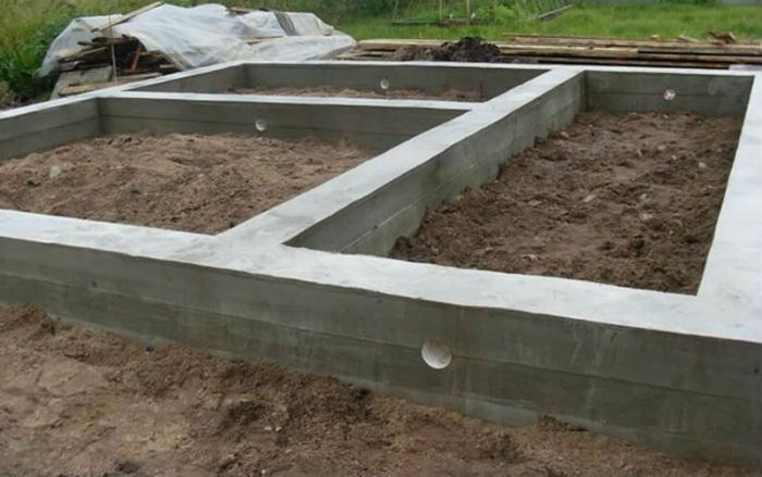 грядки из бетона фото