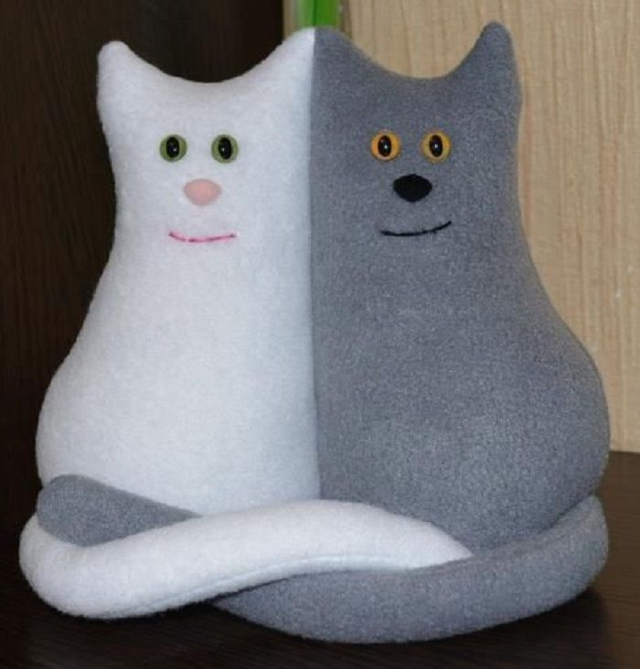 Кот игрушка фото