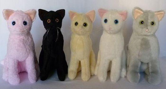 Котенок игрушка фото