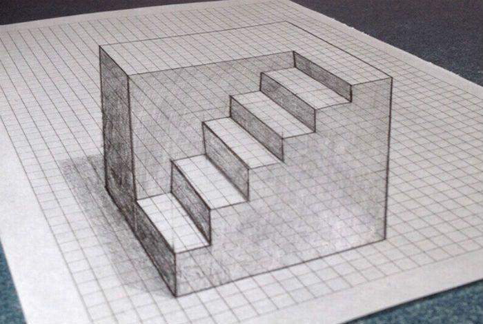 лестница клеточка - 7