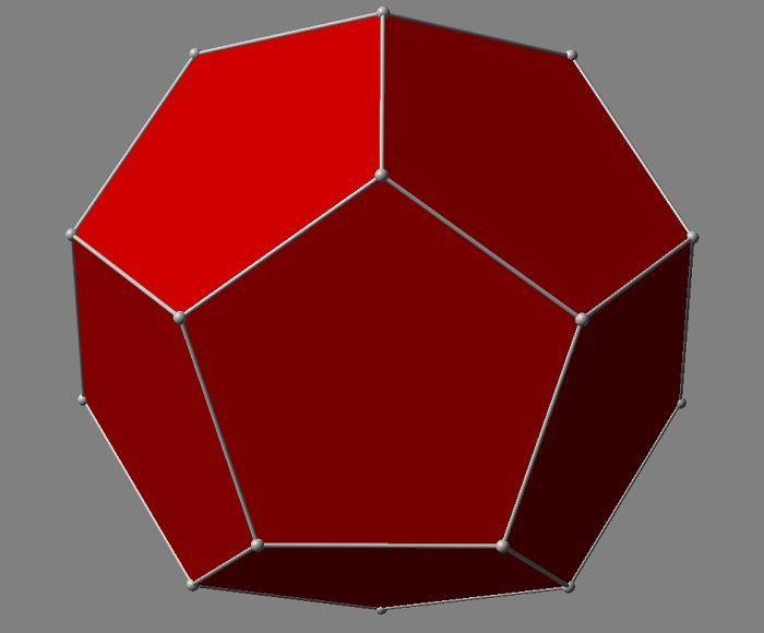 Объемный додекаэдр