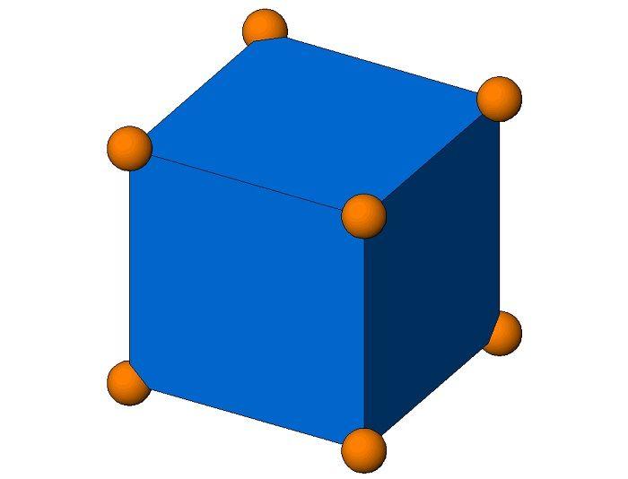 Объемный гексаэдр