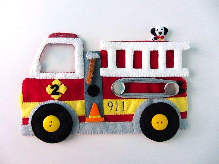 Поделка по пожарной безопасности  из фетра