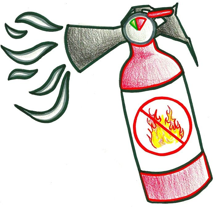 Рисунок: Огнетушитель