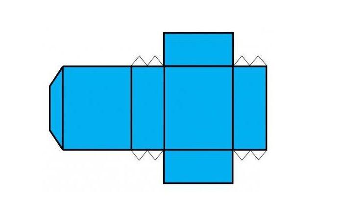 Шаблон параллелепипеда
