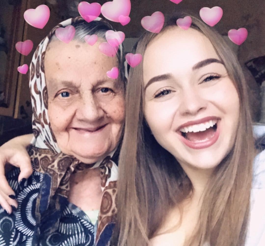Бабушка Саши Лукьяновой фото