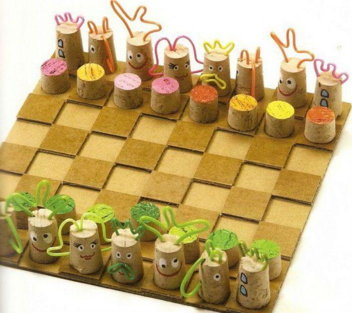 Шахматы поделки фото