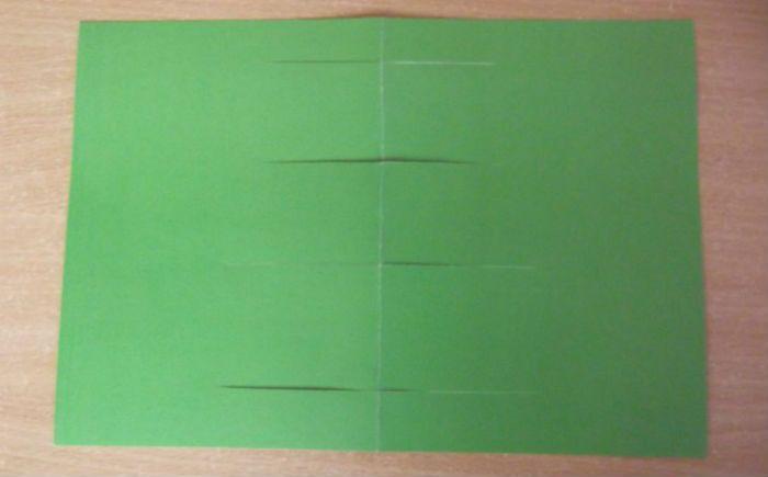 Создание объемной открытки фото
