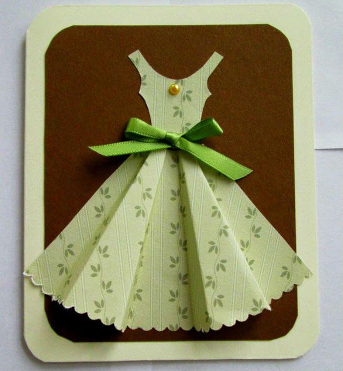 Открытка платье фото