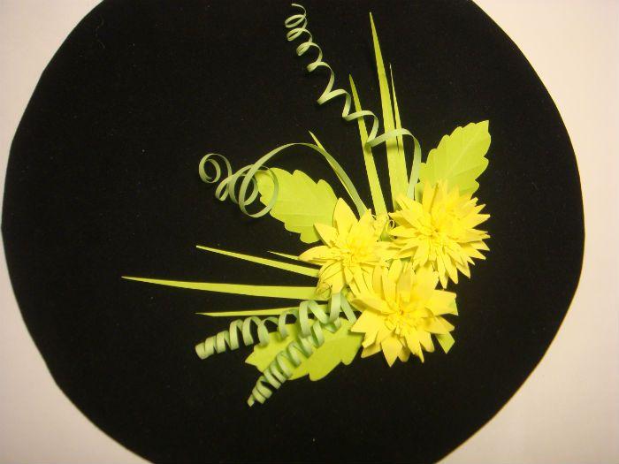 Цветы на бархатной бумаге фото