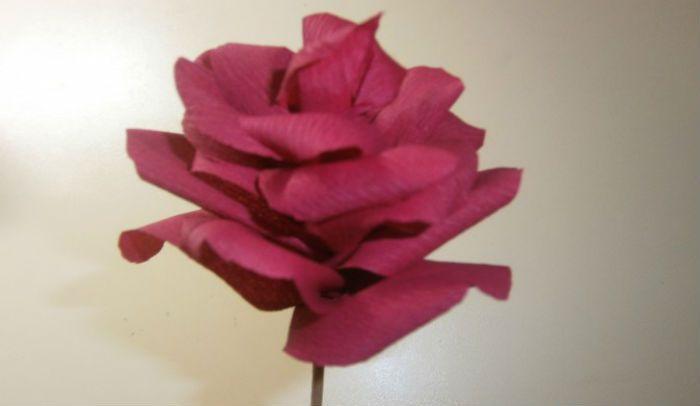 Роза на шпажке фото
