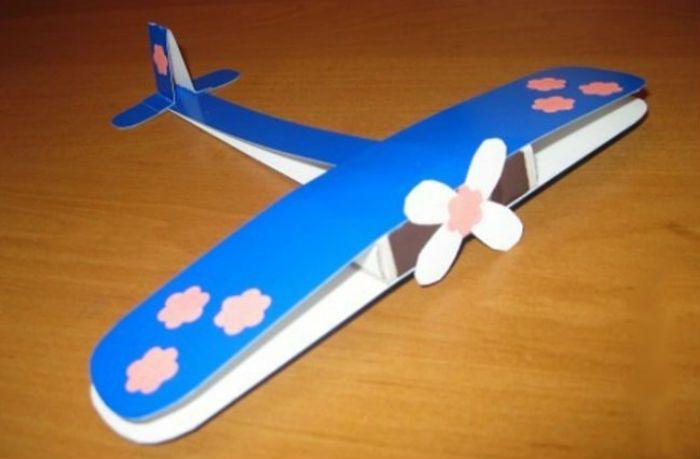 Поделка самолет фото