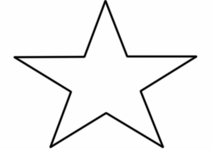 Шаблон звезды фото