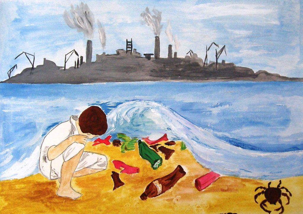 Береги планету от мусора рисунок 6 фото