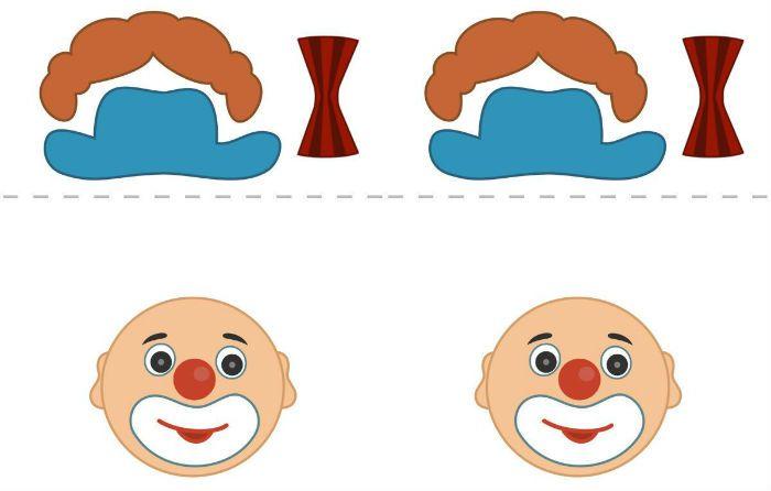 Лицо шаблон 5 фото