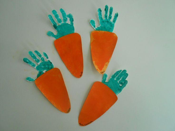 Аппликация морковка фото