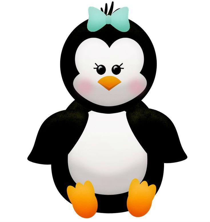 Аппликация пингвины шаблон 2 фото