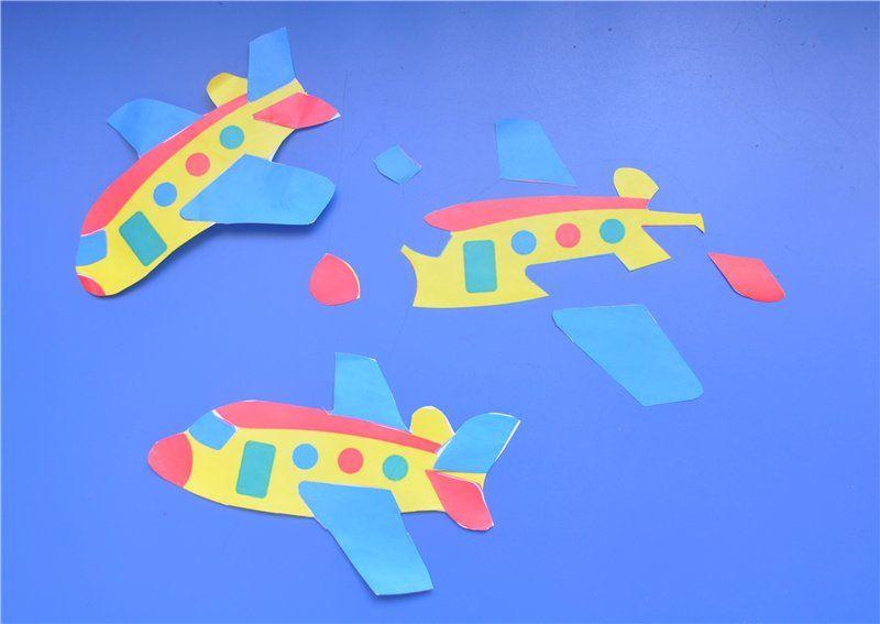 Аппликация самолет фото