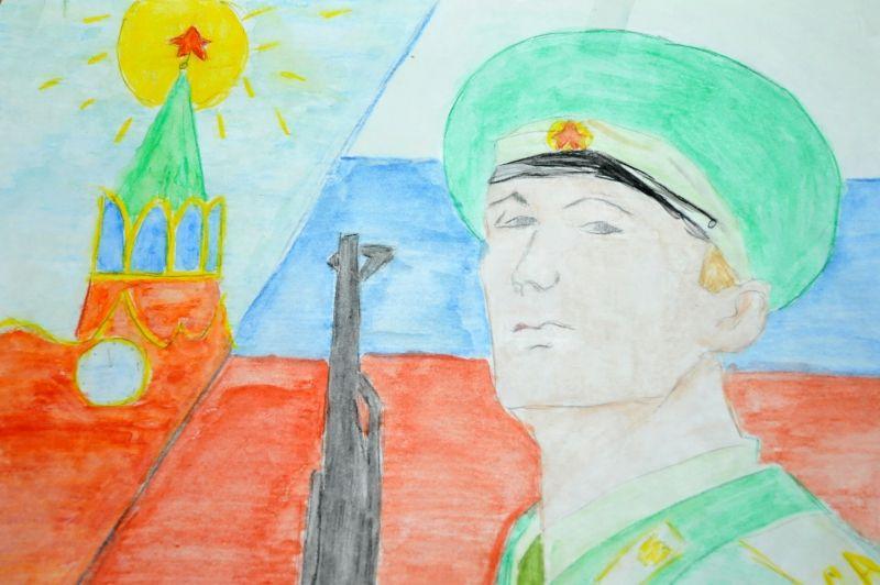 Служу России рисунок 8 фото