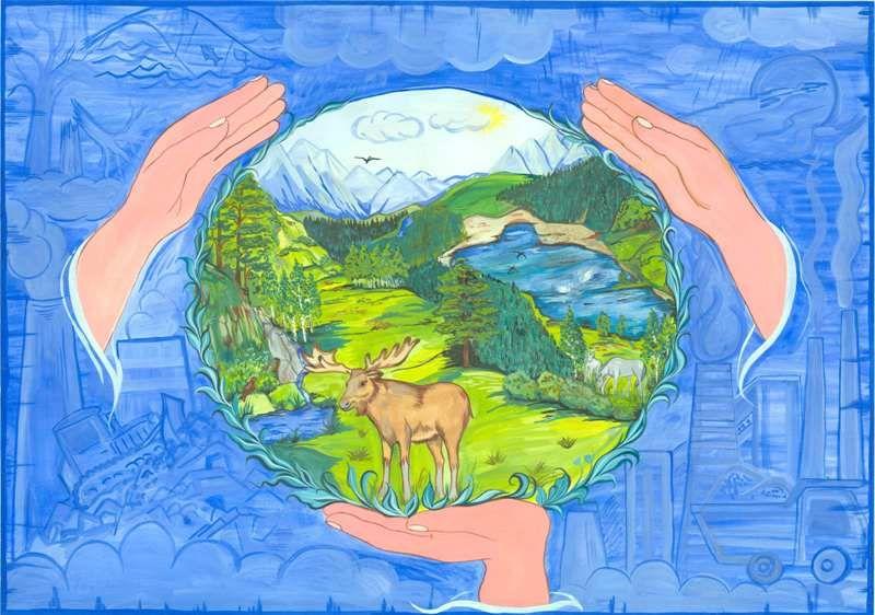 Защита и охрана природы рисунок 10 фото