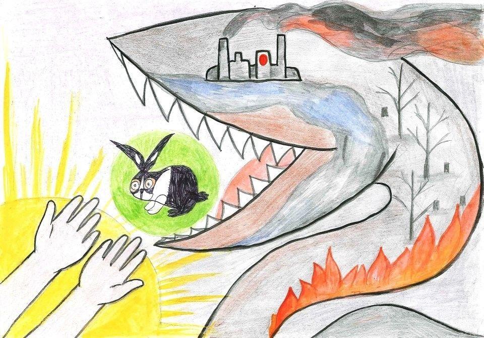 Защита и охрана природы рисунок 2 фото
