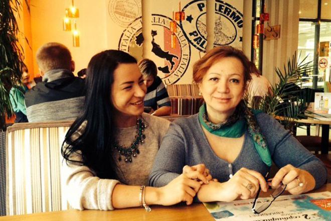 Ида Галич с мамой